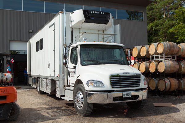 Mobile Bottling Truck